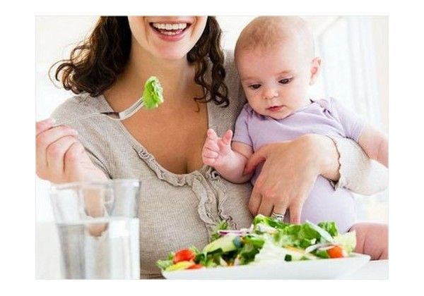 Diet for breast feeding